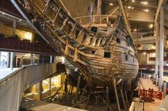 Музей Vasa в Стокгольме стоковые изображения