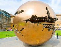музей vatican глобуса Стоковые Изображения RF