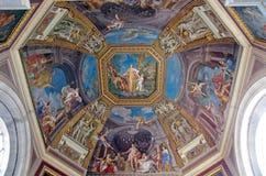 музей vatican купола стоковое изображение