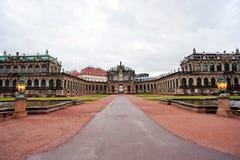 Музей Zwinger Стоковые Изображения