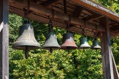 музея kiev церков belltower воздуха pirogovo Украина стародедовского открытое деревянная Стоковое Изображение