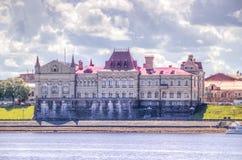Музе-запас положения Рыбинска стоковые изображения