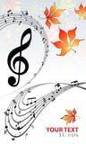 Музыкальная предпосылка Стоковое Изображение RF