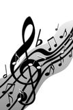 музыкально Стоковое Изображение RF