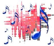 музыкально Стоковые Изображения