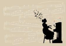 музыкально Стоковое фото RF