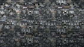 музыкальный магазин Стоковое Изображение RF