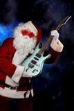 музыкальный santa Стоковые Изображения RF