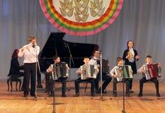 Музыканты детей Стоковая Фотография RF