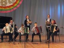 Музыканты детей Стоковые Изображения RF