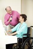 музыканты инвалидности Стоковое Фото