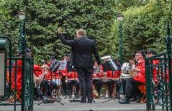 Музыканты симфонического оркестра Сиднея стоковое фото