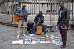 Музыканты улицы. Стоковые Фото