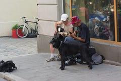 Музыканты улицы Стоковое Изображение RF