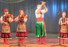 Музыканты художников детей Стоковое Фото