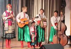 Музыканты художников детей Стоковая Фотография