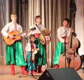 Музыканты художников детей Стоковые Фото