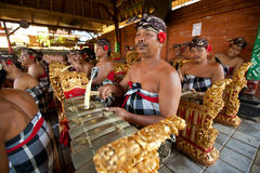Музыканты Balinese Стоковое фото RF