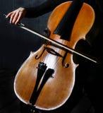 музыкант виолончели стоковые изображения
