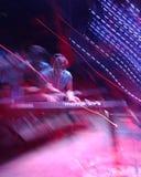 Музыкант-запачканный Стоковая Фотография