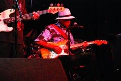 Музыкант син стоковое изображение