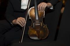 Музыкант скрипки Стоковые Фотографии RF
