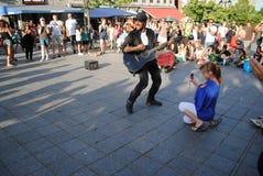 Музыкант улицы Стоковая Фотография RF