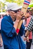 Музыкант улицы Стоковая Фотография
