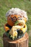 Музыкант хеллоуина стоковая фотография rf