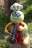 Музыкант хеллоуина стоковые фото