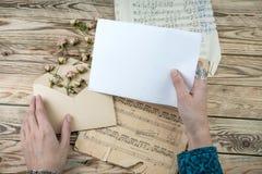 Музыкант любовных писем Стоковое Фото