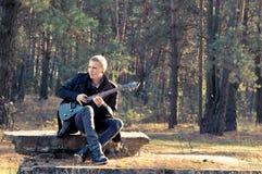 музыкант стоковое фото