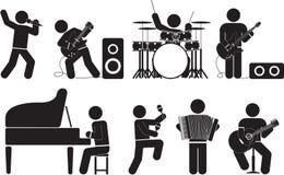 музыкант Стоковое Изображение