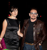 Музыкант Bono Стоковые Фото
