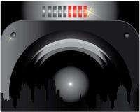 Музыка абстрактное background1 Стоковое Изображение RF