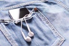 Музыка в карманн Стоковое Изображение