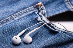 Музыка в карманн Стоковые Изображения RF