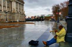 Музыка в Мадриде Стоковая Фотография