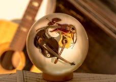 Музыка в шарике стоковые фотографии rf