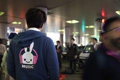 Музыка в Shibuya Стоковое Фото