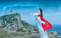 Музыка летает в небо Стоковая Фотография RF