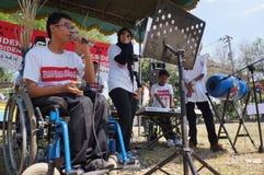Музыка игры инвалидности Стоковое фото RF
