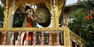 Музыка игры монаха Стоковая Фотография