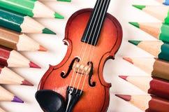 Музыка и концепция искусства Стоковые Фото