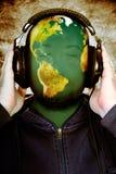Музыка мира Стоковое фото RF