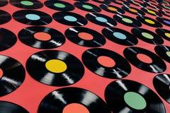 Музыка - показатели винила Стоковое Изображение RF