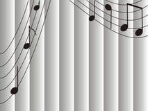 Музыка предпосылки Стоковые Фотографии RF