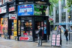 Музыкальная будочка билета в Лондоне Стоковое Фото