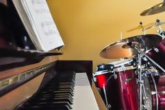 Музыкальная комната Стоковые Изображения