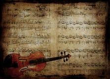 Музыкальная предпосылка иллюстрация штока